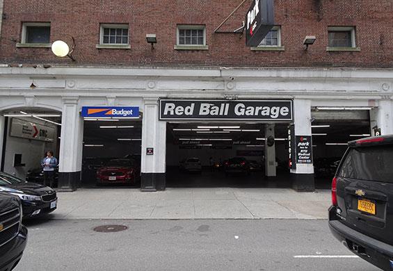 GMC Red Ball Garage logo